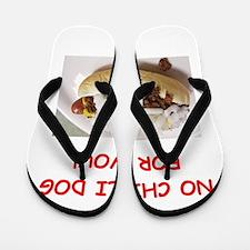 chili dog Flip Flops