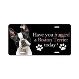 Boston terrier License Plates