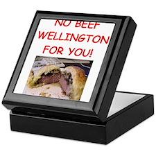 BEEF WELLINGTON Keepsake Box