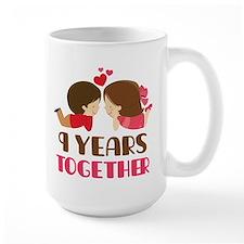 9 years together Mugs