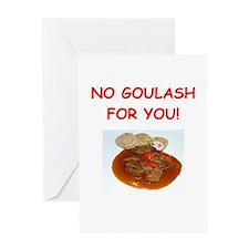 goulash Greeting Cards