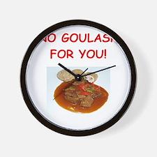 goulash Wall Clock