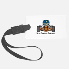 Flat Out Luggage Tag