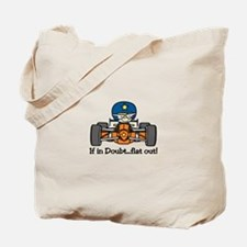 Flat Out Tote Bag