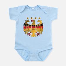 Germany four Star Champions Infant Bodysuit