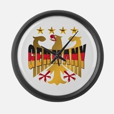 Germany four Star Champions Large Wall Clock