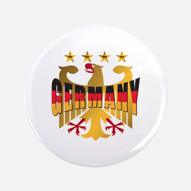 """Germany four Star Champions 3.5"""" Button"""