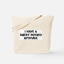 SWEET POTATO attitude Tote Bag