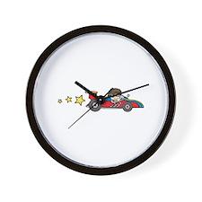 Fast Racing Car Wall Clock