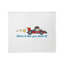 Drive It! Throw Blanket