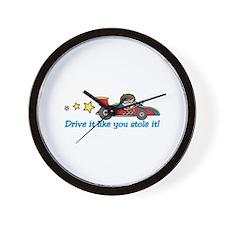 Drive It! Wall Clock