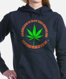 Funny Kush Women's Hooded Sweatshirt