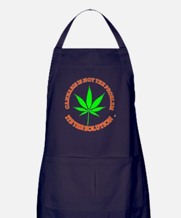 Cute Hemp Apron (dark)