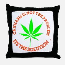 Unique Medical marijuana Throw Pillow