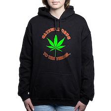 Cute Norml Women's Hooded Sweatshirt