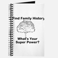 I Find Family History, Whats Your Super Power? Jou
