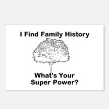 I Find Family History, Whats Your Super Power? Pos