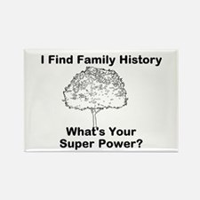 I Find Family History, Whats Your Super Power? Mag