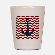 Nautical Anchor Shot Glass