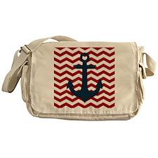 Nautical Anchor Messenger Bag