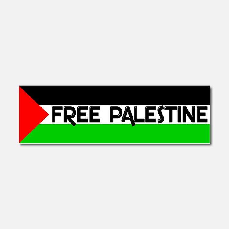Cute Free palestine Car Magnet 10 x 3