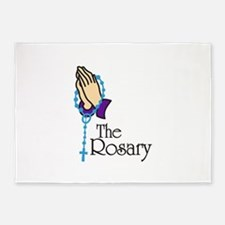 The Rosary 5'x7'Area Rug