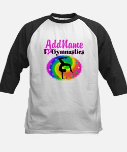 GYMNAST STAR Kids Baseball Jersey