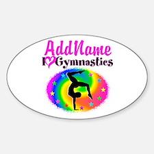 GYMNAST STAR Bumper Stickers