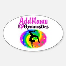 GYMNAST STAR Stickers