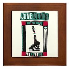 Juneteenth Framed Tile
