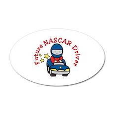 Future NASCAR Driver Wall Decal