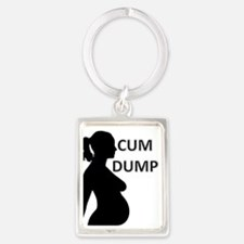 Unique Hotwife Portrait Keychain