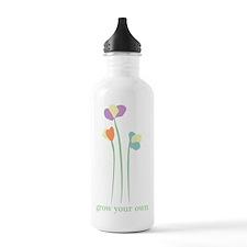 3 Little Flowers Water Bottle
