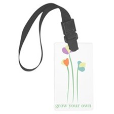 3 Little Flowers Luggage Tag