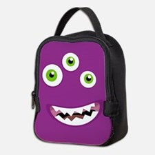 Purple People Eater Neoprene Lunch Bag