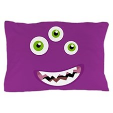 Purple People Eater Pillow Case