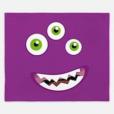 Purple People Eater King Duvet