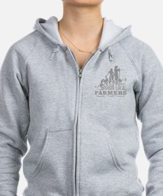 Suppor Local Farmers Zip Hoodie