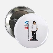 "USA Blind American Awareness Day 2.25"" Button"