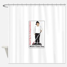 Stand Up For Independence Shower Curtain