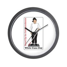 Stand Up For Independence Wall Clock