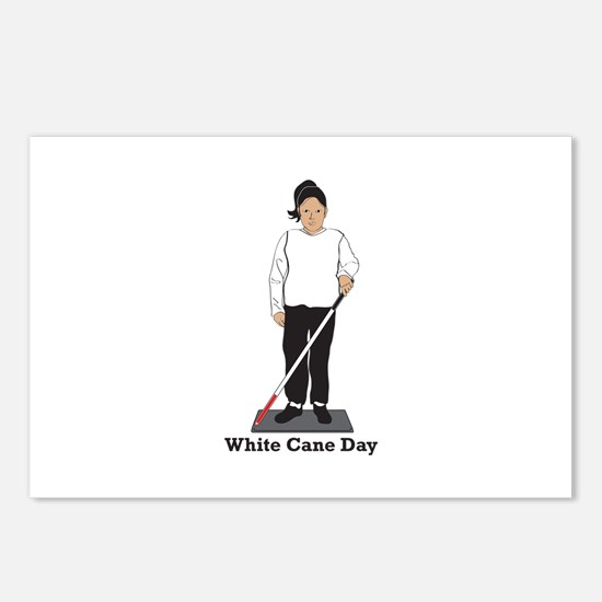 White Cane Day Postcards (Package of 8)