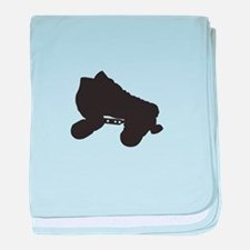 Skate Silhouette baby blanket
