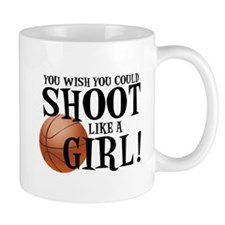 Shoot Like a Girl Mugs