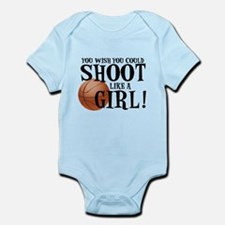Shoot Like a Girl Body Suit