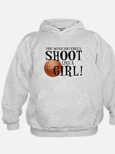 Shoot Like a Girl Hoodie