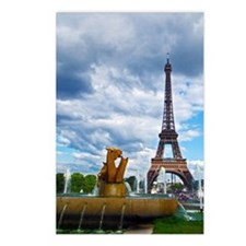 Cute Eiffel tower Postcards (Package of 8)