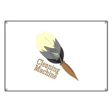 Cleaning Machine Banner