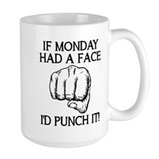 Punch Monday In The Face Mugs