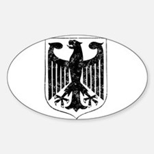 German Eagle Oval Decal